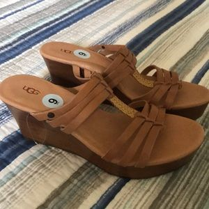 NWOT UGG Mattie Wedge s/n 1007533